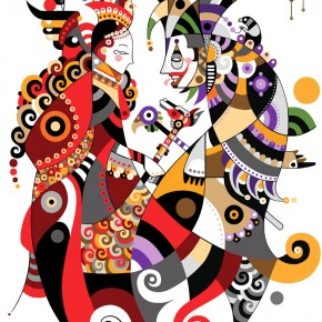 rainha-e-bobo-digital-illustration-2009-290x290